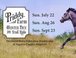Priddy Farm Hunter Pace and Trail Ride