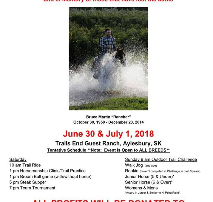 Rancher's Trail Ride and Outdoor Trail Competition