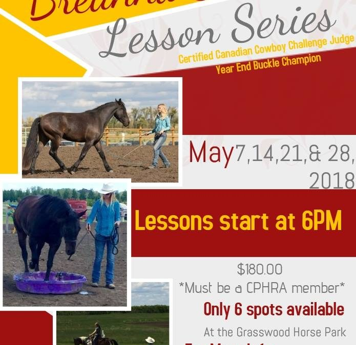 Breanna Sikorski Lesson Series