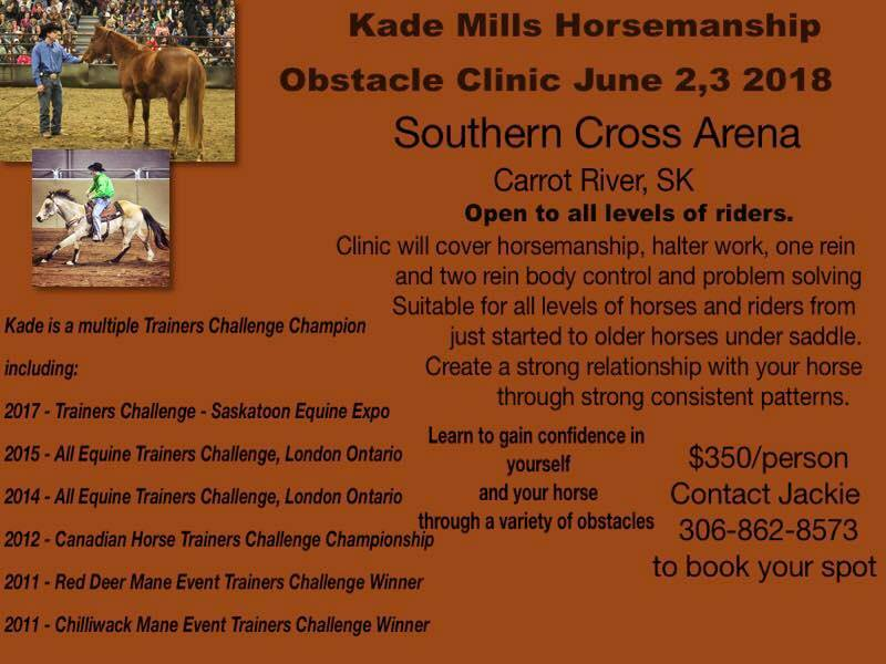 Kade Mills Horsemanship Obstacle Clinic