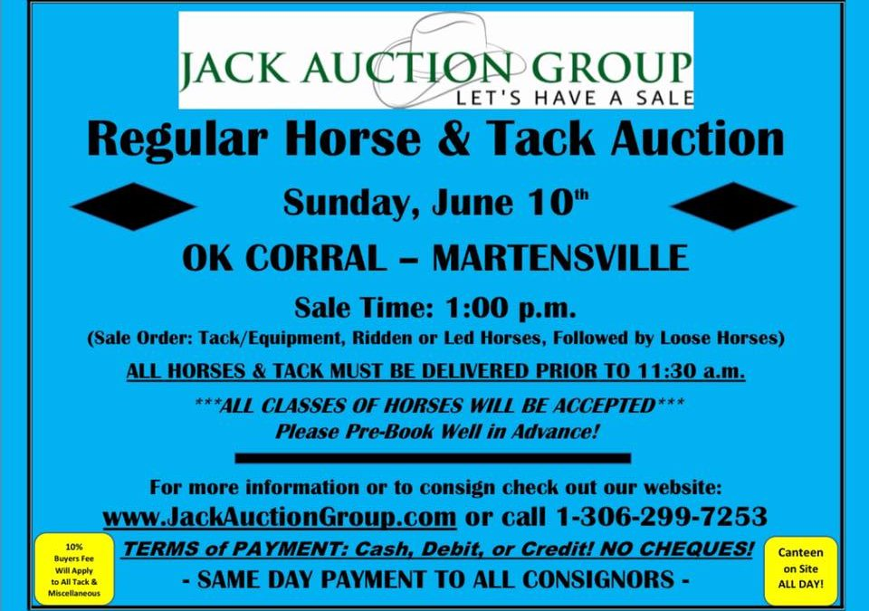 Regular Horse & Tack Auction