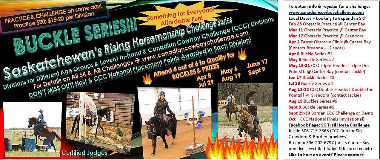 Rising Horsemanship Buckle Series and Play Day