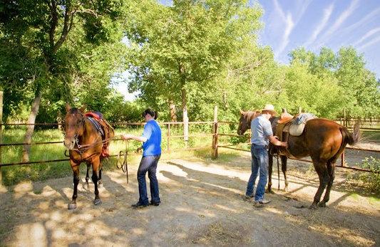 Saskatchewan Landing Provincial Park Equestrian Camping