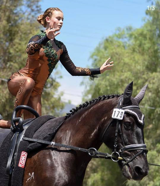 Intro to Equestrian Vaulting