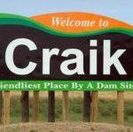 Craik Saskatchewan Sign
