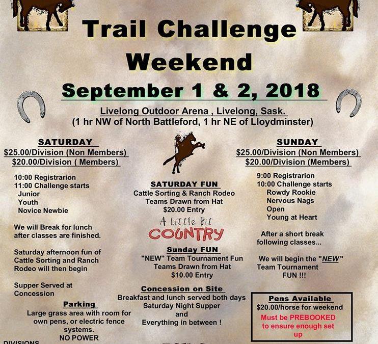 Trail Challenge Weekend