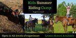Kids Summer Riding Camp
