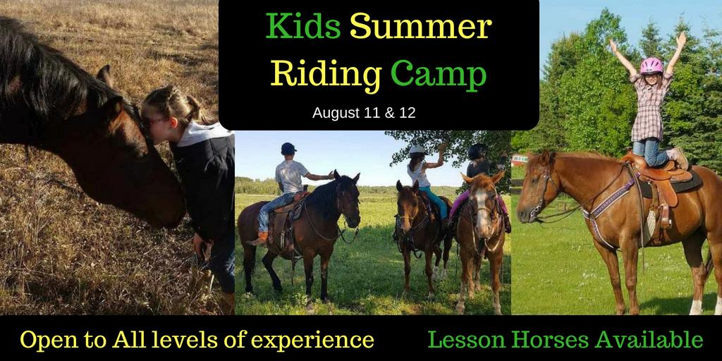Kids Summer Riding Camp