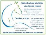 Equine Business Workshop