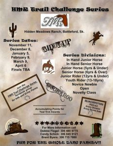 Hidden Meadows Ranch Battleford Trail Challenge Poster