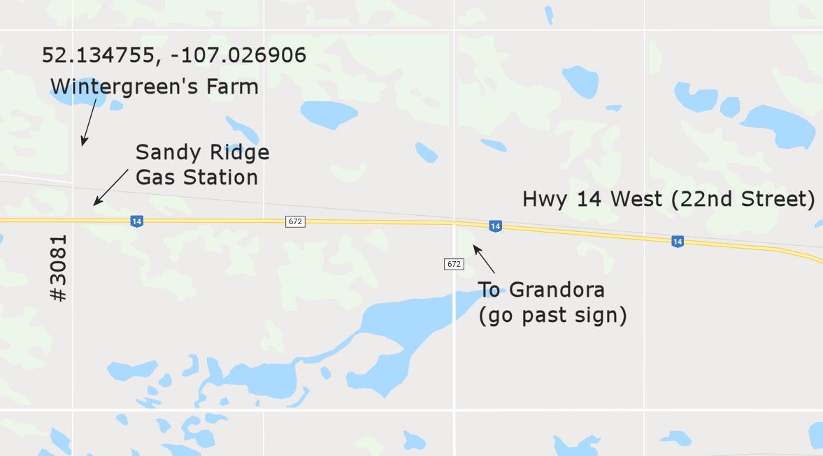 asquith grandora wintergreen's farm map