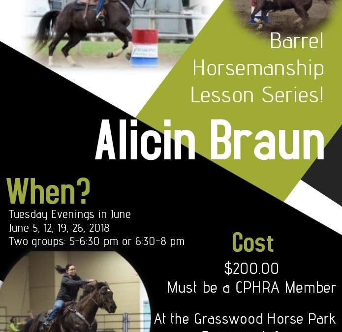 Alicin Braun Lesson Series