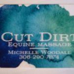 Cut Dirt Equine Massage Asquith Logo
