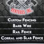 Outlaw Ventures Inc fencing logo
