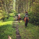 Duck Mountain Provincial Park Horseback Trail Riding